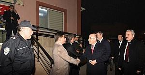 Vali Demirtaş'tan polis merkezlerine ziyaret