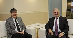 Vali Karaloğlu'ndan Başkan Türel'e hayırlı olsun ziyareti