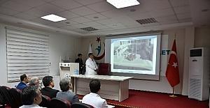 Vali Tuna hastane gezilerine devam ediyor