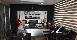 Vali Zülkif Dağlı, Ertan Taşlı'yı ziyaret etti