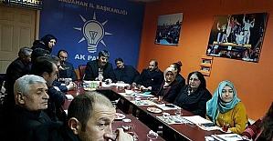 AK Parti Ardahan teşkilatı referandum startını verdi