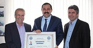 AK Parti İl Başkanı Sümer, Müteahhitlerle buluştu