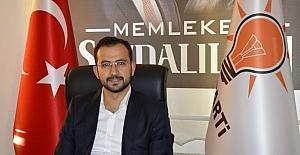 """AK Parti İl Başkanı Tanrıver, """"CHP yanlış yolda"""""""