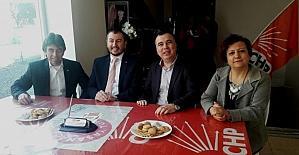 AK Parti Kepez Teşkilatından CHP ve MHP belde başkanlıklarına ziyaret