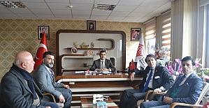 AK Parti Milletvekili Aydemir, ASP İl Müdürlüğünü ziyaret etti