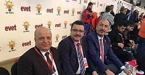 AK Parti'de referandum kampanyası başladı