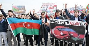 Aksaray'da Hocalı Katliamı kurbanları anıldı