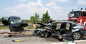 Almanya'da trafik kazalarındaki ölü sayısında azalma