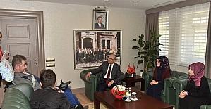 ALS Hastası Yasin Asma ve çocuklarından Vali Demirtaş'a ziyaret