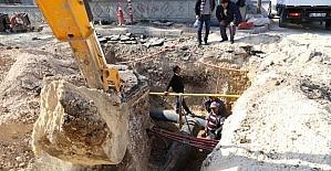 Altınşehir'in içme suyu bağlantı çalışmaları tamamlandı