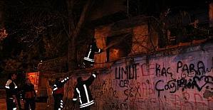 Amasya'da bir mahallede peş peşe yangın çıktı