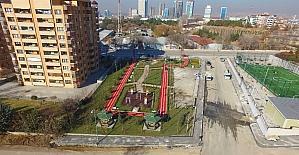 Ankara Büyükşehirden görme engellilere özel park