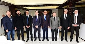Azerbaycan Milletvekili Mirzezade, Battalgazi Belediyesini ziyaret etti