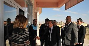 Başkan Akkaya'dan Sosyal Hizmet Merkezi'ne ziyaret