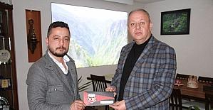 Başkan Civelek'ten KSK'ya destek