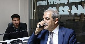 Başkan Demirkol vatandaşlardan gelen telefonları cevapladı