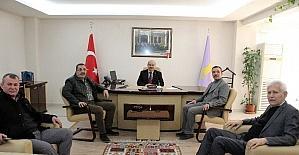 Başkan Ercan'dan ESOB Başkanı Konak'a ziyaret