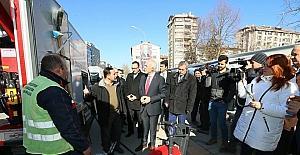 Başkan Kamil Saraçoğlu: Halkımıza daha iyi hizmet sunabilmek için araç filomuzu genişlettik