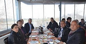 Başkan Kayalı, şoförler odası üyeleri ile bir araya geldi