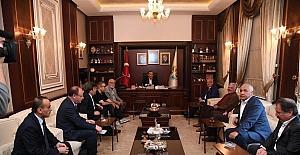 Başkan Kocamaz'dan Başkan Sözlü'ye ziyaret