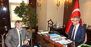 Başkan Köşker, KASKF Başkanı ve yönetimini ağırladı