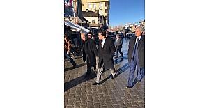 Başkan Vekili Öztürk'ten esnaf ziyareti