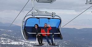 Başkan Zolan, Denizli Kayak Merkezi'ni inceledi