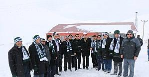 Başkanlar, Başçiftlik Kayak Merkezi'nde buluştu
