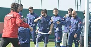 B.B. Erzurumspor'da hırslı antrenman
