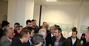 Belediye Başkanı Demirkol, Viranşehir'de yaralıları ziyaret etti