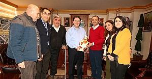 Beyazay Derneği Yönetiminden Başkan Yazgı'ya ziyaret
