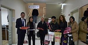 Bigalı öğrencilerden depremzede öğrencilere yardım