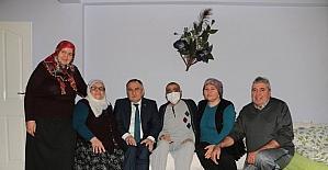 Bolu Belediye Başkanı Yılmaz 7 aileye ziyaret etti