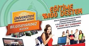 Bolu Belediyesi 1 Mart'ta laptop dağıtacak