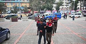 Bursaspor otobüsüne saldırdığı iddia edilen 6 kişi adliyeye sevk edildi