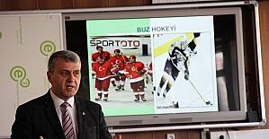 Buz Hokeyi okullarda yaygınlaşacak