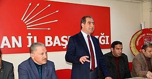 CHP Ardahan teşkilatı referandum kampanyasına start verdi