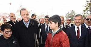 Cumhurbaşkanı Erdoğan Şahinbey Belediyesi'nin projelerine övgü