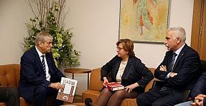 DİSK Başkanı Beko'dan Pekdaş'a teşekkür ziyareti