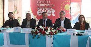 Elazığ'da referandum startı verildi
