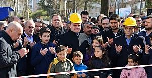 Erbaa'da Yunus Emre Bilgi Evi temel atma töreni