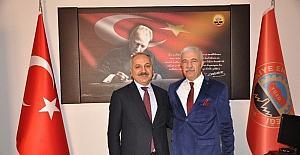 ESOB Başkanı Dinçer, Emekliler Derneğini ziyaret etti