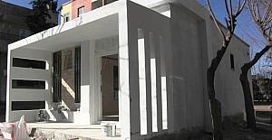 Eyyübiye Belediyesi muhtar evi yapım çalışmalarını sürdürüyor