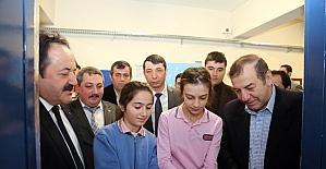 Fahir İlkel Ortaokulu'nda bilişim sınıfı açıldı