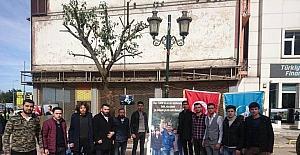 Fatsa'da Fırat Çakıroğlu için anma töreni