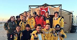 Geçici görevle sınırda görev yapan 112 ekipleri değişti