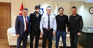 Genel Sekreter Büyükakın, Kocaeli Birlikspor Başkanı Yılmaz'ı ağırladı