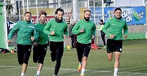 Giresunspor, Elazığspor hazırlıklarına başladı