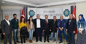 Güneydoğu Engelli Hakları Derneği'nden Başkan Atilla'ya ziyaret