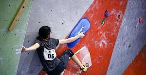 İnönü Üniversitesi, Spor Tırmanış Büyükler Bolder Türkiye Şampiyonası'na ev sahipliği yaptı